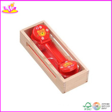 2014 Best Selling Wooden Castanet Toy, New and Popular Wooden Castanets Toy, Mini Kids Wooden Castanets Toy W07I037