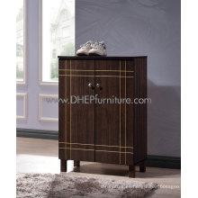 Gabinete de zapatos, gabinete de zapatos de madera