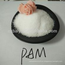 PAM / China fabrica poliacrilamida aniónica em pó / têxtil