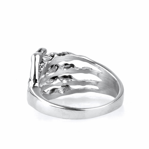 Wholesale Personality The Skeleton Hand Men's Skull Ring