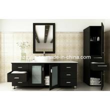 Lavabo de baño de madera maciza Expresso Single Sink (BA-1122)