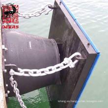 Sistema de guardabarros Hyper Cone de alta calidad para muelle de puerto