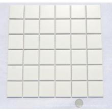 48by48 Mosaico de cerámica blanca