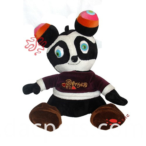 plush colourful panda
