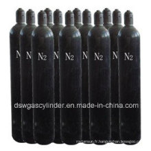 Cylindre d'azote standard international
