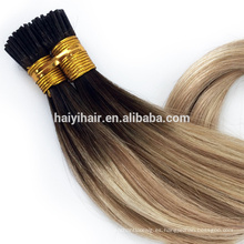 100 Cheap Remy I Tip Hair Extension Distribuidores al por mayor disponibles