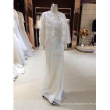 Mermaid/Trumpet Lace Boho Wedding Dress with Bolero