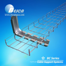 Electric Wire Mesh Cable Tray With Accessories (CE,UL,NEMA,ISO,SGS,IEC Verified)