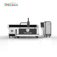 Tubo de metal y máquina de corte por láser de fibra de placa