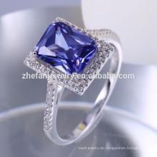 Zefan Jewelry 925 Sterling Silber Schmuck Edelstein Frauen Ringe