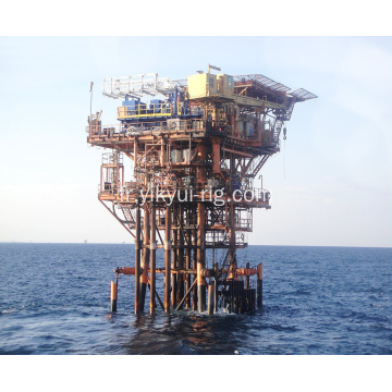 Plate-forme de workover offshore avec 269kw Drawworks