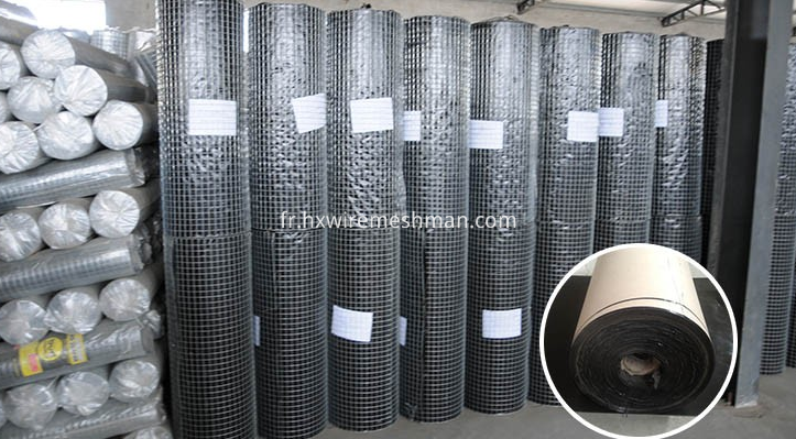 welded mesh roll packing