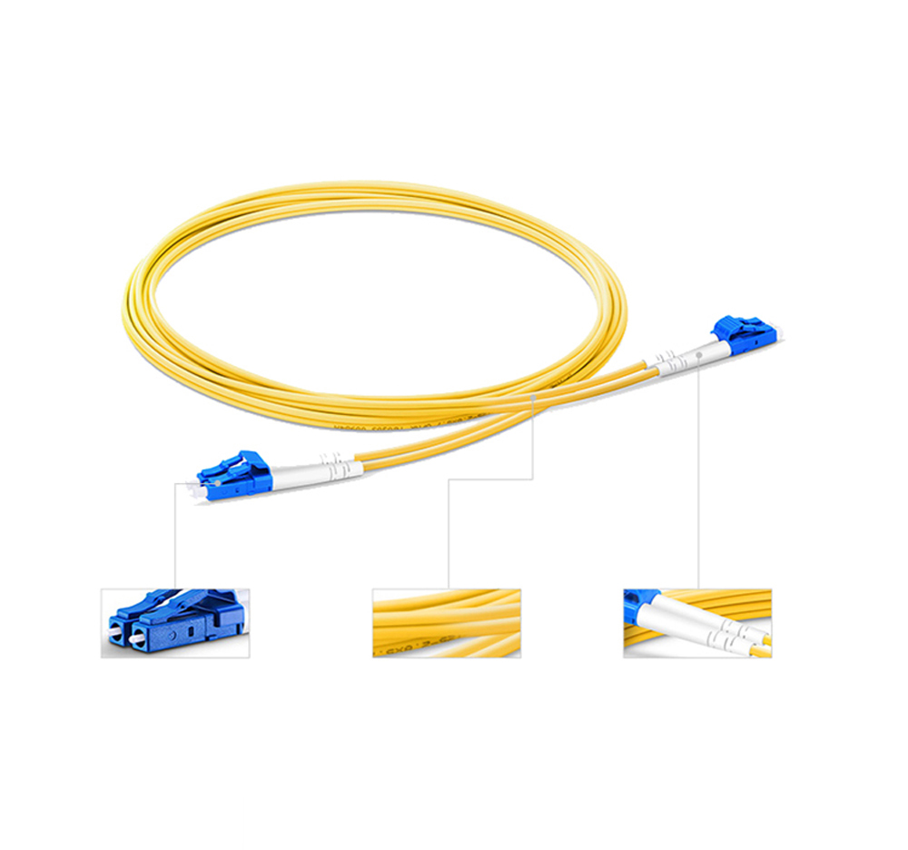 Single Mode Fiber Optic Jumper Cord
