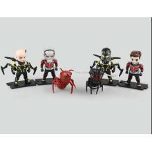 Personalizada PVC Mini figura de acción de la muñeca niños Ant-Man juguetes de fabricación