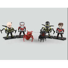 Figurine personnalisée en PVC Mini Action Doll Kids Ant-Man Manufacture Toys