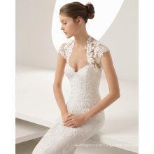 Vest Lace Applique Wedding Dress