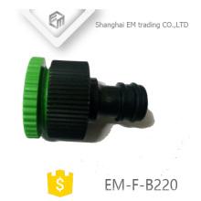 EM-F-B220 Adaptador de conector de manguera de jardín de plástico