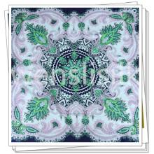 Impressão digital de tecidos para lenço de seda