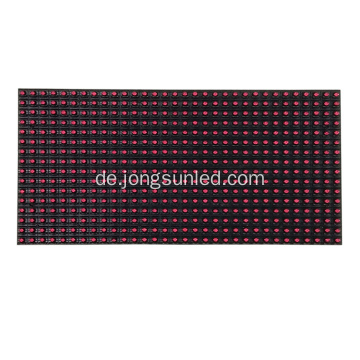 P10 Outdoor Single Red Color LED-Modul