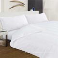 Hotel Collection 200T 100 Pure Cotton Plain White Bedding Set