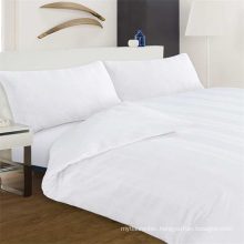 Hotel Collection 200T 100 Pure Cotton Plain White Bedding Set