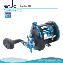 Angler Select Jupiter 3 + 1 Lager Seefischerei Trolling Bootsrolle Angelgerät Reel (Jupiter 040)