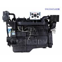 158,4 kW Una. Marine Dieselmotor der Serie 135. Shanghai Dongfeng Dieselmotor für Schiffsmotoren. Sdec Motor