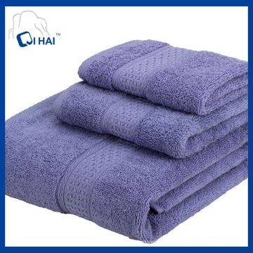 100% Solid Color Face Towel Sets (QAD9980)