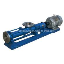 Pompe à vis unique en acier inoxydable 304 et 316