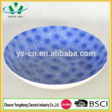 2014 placas de louça de porcelana de cerâmica novo