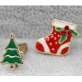 Bijoux de Noël / Boucle d'oreille de Noël / Arbre de Noël (XER13365)