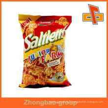 Food Industrial Use and Gravure Printing Surface Handling plastic laminated bag for snack packaging