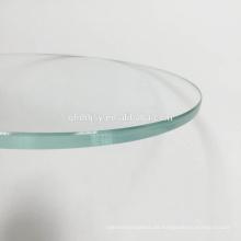 guter Preis 8mm 10mm 12mm gehärtetes Verbundglas für den runden Tisch