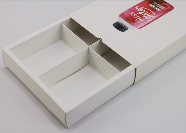 White Drawer Box
