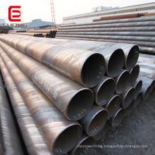 spiral welded steel pipes for tubo de acero seaside construction for oil water transport