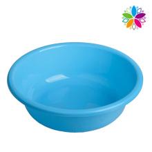 Fashion Pure Color Plastic Round Washing Basin (SLP027)