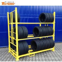 heavy duty tire storage folding rack for sale