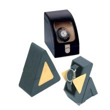 Eco-Frendly poliert kleine Dreieck Verpackung Box für die Uhr