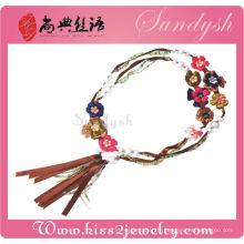 Accessoires de mode Ceintures de fleurs faites à la main Ceinture