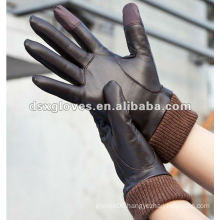 custom winter touchscreen deer skin gloves