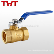 Female brass hight quality forged brass ball valve