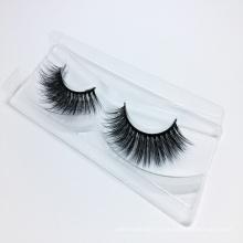 2018 Wholesale Glamorous 3D Silk False Strip Eyelashes with Custom Packaging