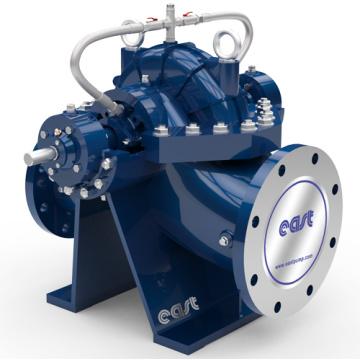 Pompe centrifuge à double étage de pompe à eau industrielle à double flux
