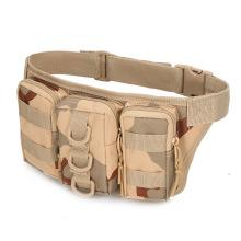 Kit de sobrevivência para bolsa de cintura camuflada