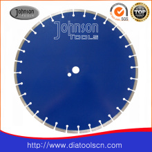 Lame de scie à diamant circulaire de 450 mm pour la coupe de béton armé