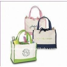 Sac à main en coton design et sac à bandoulière en coton