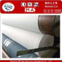 Géotextile non-tissé perforé par aiguille courte de polyester de 200g 100%
