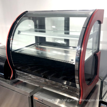 Glass bakery refrigeration cake cabinet