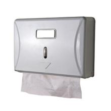 Tenedor de papel plástico montado en la pared al por mayor público decorativo de lujo negro de la toalla de papel de la cocina