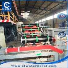 Polyester reinforced 1.5mm 2mm 3mm 4mm modified bitumen membrane production line